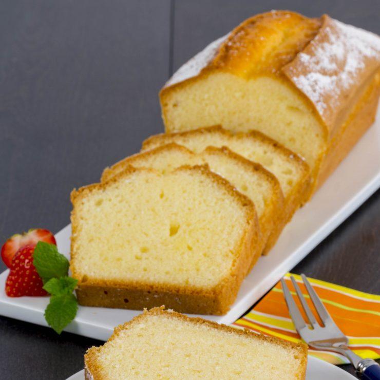 plum cake foto quadrata bassa